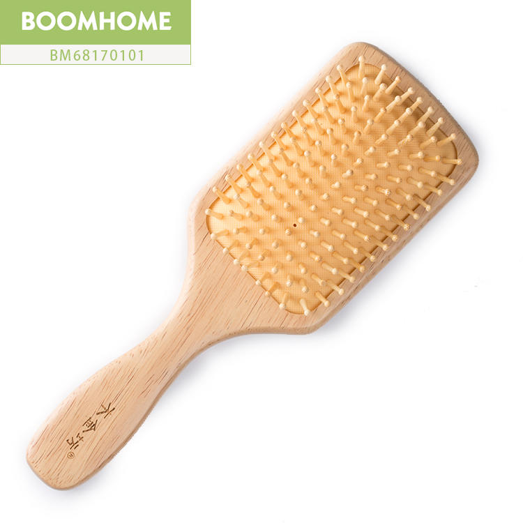 High Quality Large Paddle Hair Wooden Brush For Dryer Hair