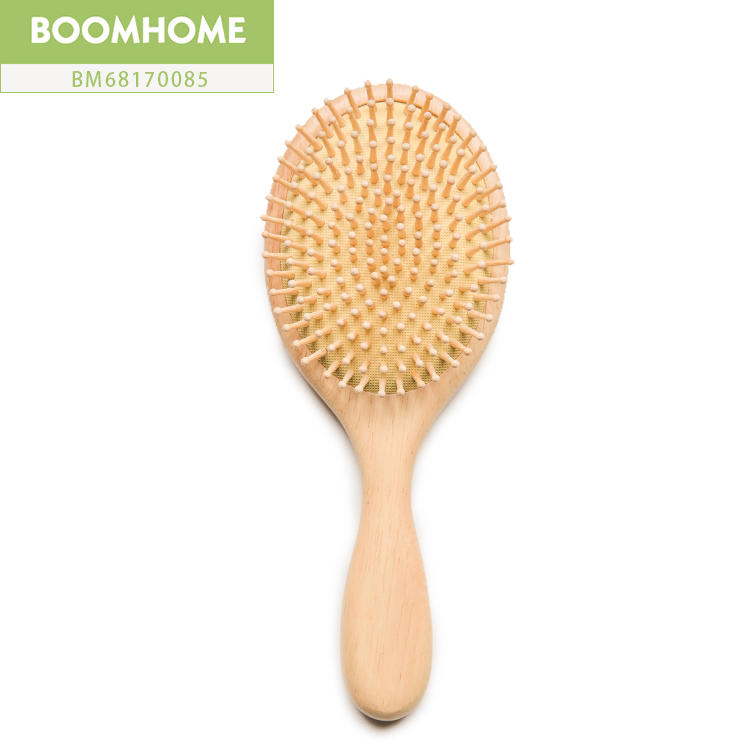 Custom Hair Brush Wood Round Large For Private Label Brands