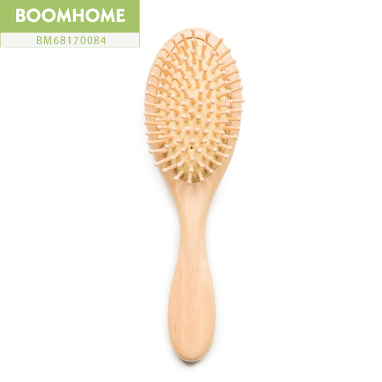 Professional Personalized Wooden Hair Brush Easy Carrying