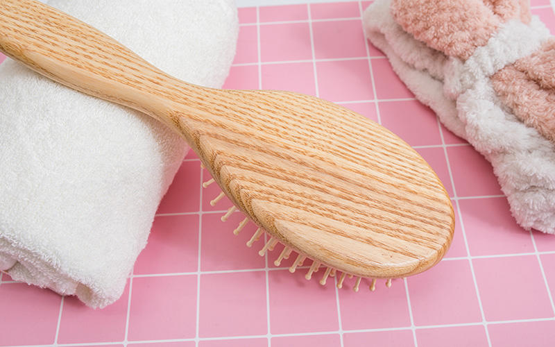 Boom Home noble wooden paddle brush with good price for shop