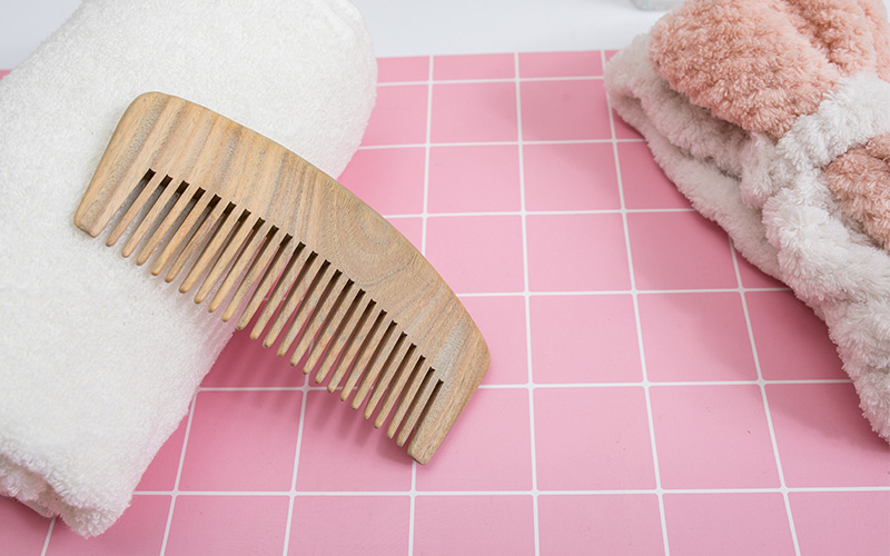 Boom Home portable wooden comb supply for hotel-1