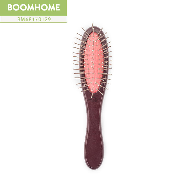 Easy Carrying Personalized Wooden Hair Brush Oval Handle Comb