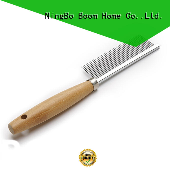 Boom Home knots pet grooming brush design for fur