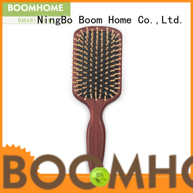 Boom Home easy wooden paddle brush factory for shop