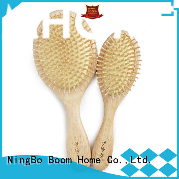 Wooden Hair Brush Set with Air Cushion Combs for Scalp Massage Anti-static