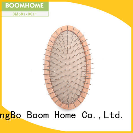 oval wooden massage hair brush combs for shop Boom Home