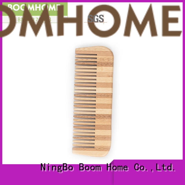 Boom Home eco-friendly bamboo hair comb factory price for thick hair