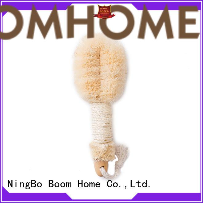 detachable body brush bamboo customized for shower
