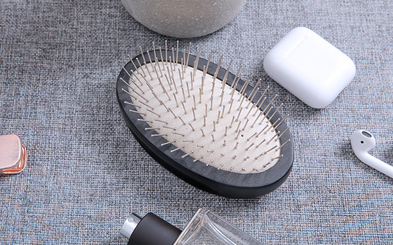 wooden hair brush without for travel Boom Home-1