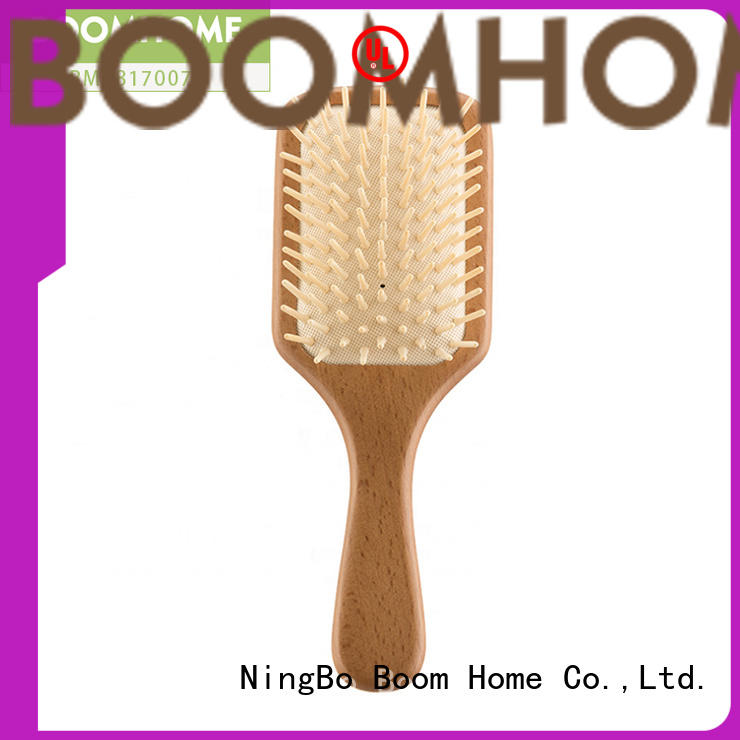 personalized hair wooden brush inquire now for shop Boom Home