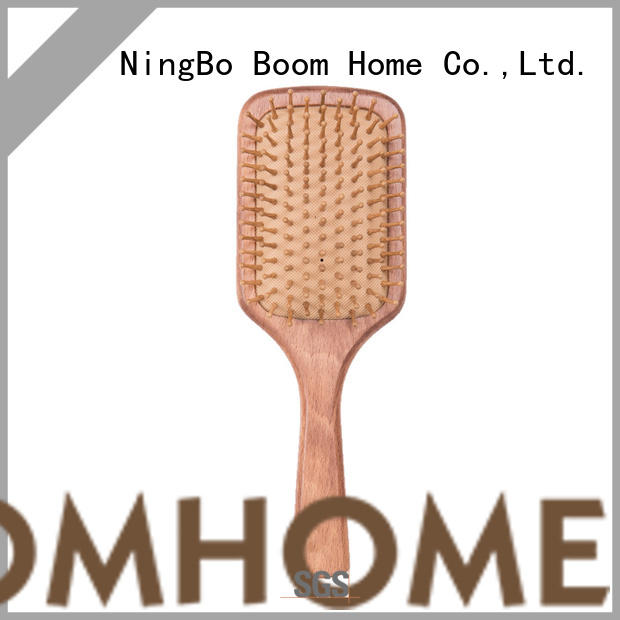 Boom Home Wholesale wooden hair comb for business for travel