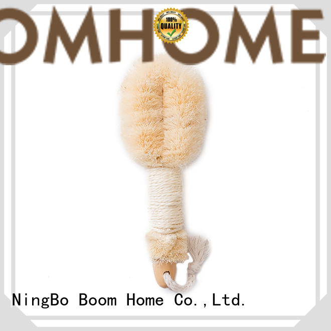 Boom Home bristle bathtub cleaning brush manufacturer for dry skin
