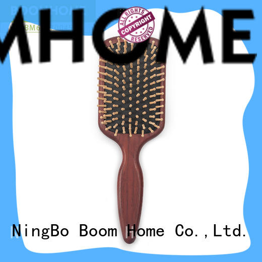 New wooden paddle brush trending suppliers for hotel