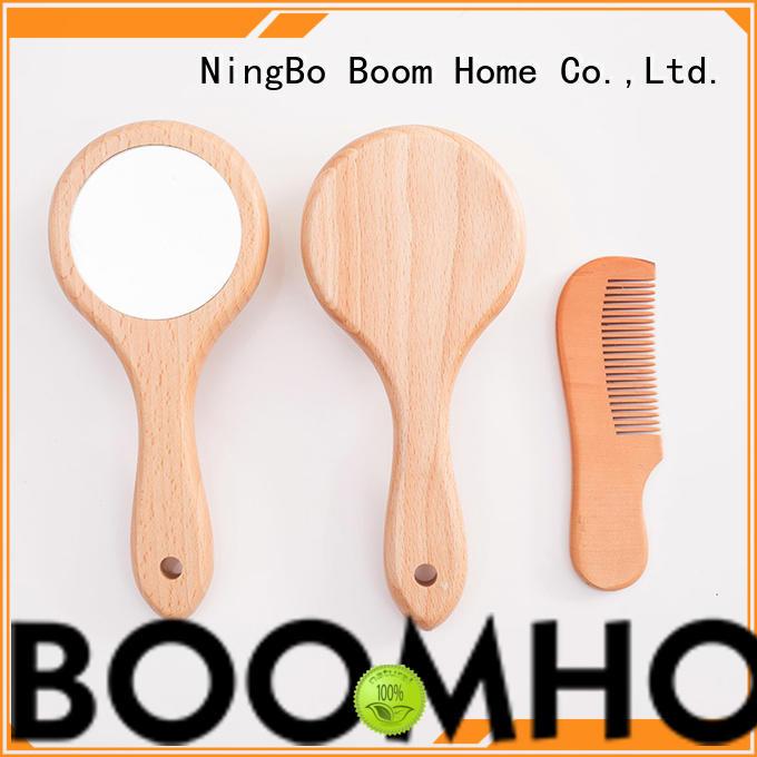soft baby brush and comb set goat manufacturer for infant