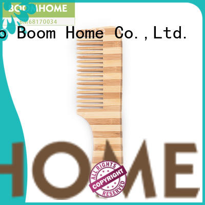 Boom Home nylon bamboo paddle brush wholesale for thick hair
