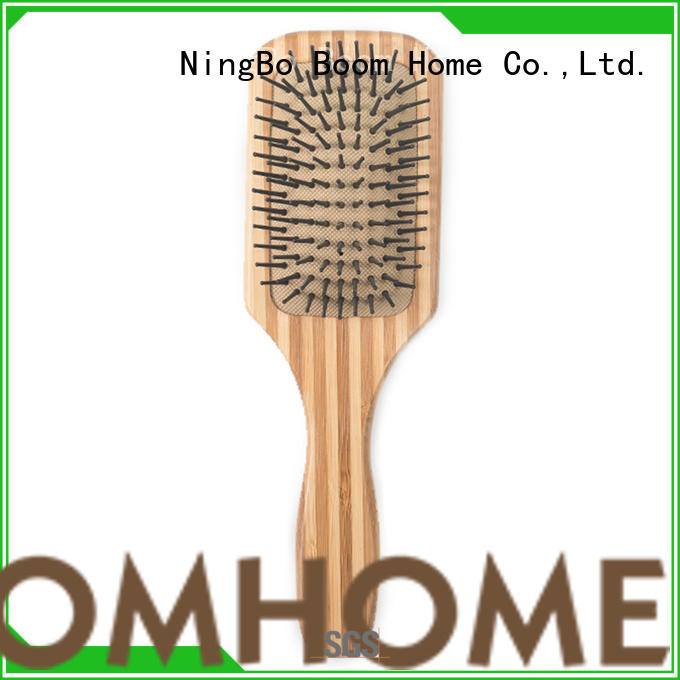 Boom Home tool bamboo paddle brush wholesale for men