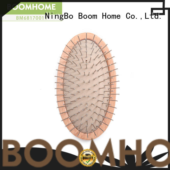 Boom Home natural wooden hair brush factory for travel