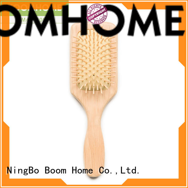 large mens wooden hair brush supplier for hotel Boom Home