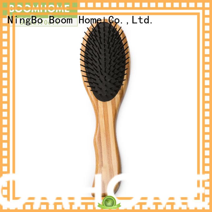 Boom Home New bamboo comb factory for curly hair