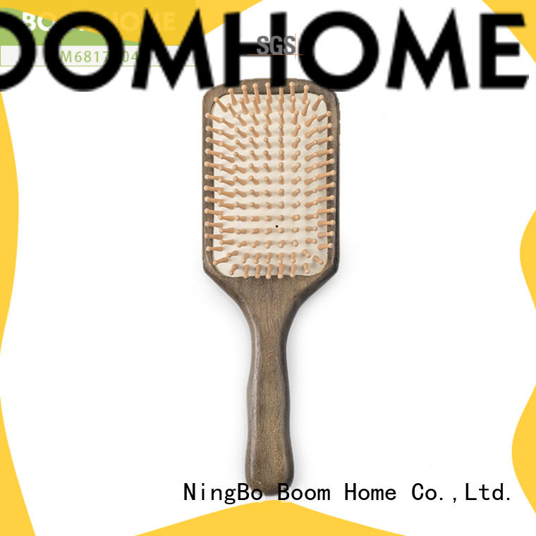 Boom Home oval wooden hair comb company for shop
