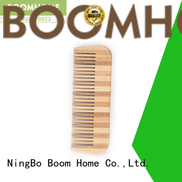 smooth bamboo hair brush gift factory price for women