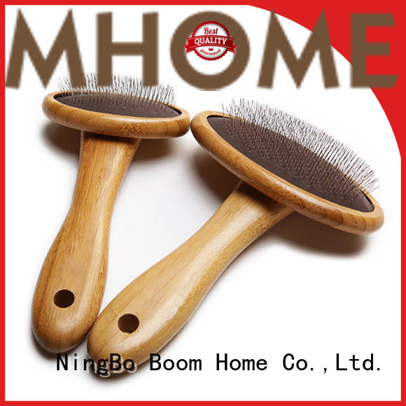 natural pet grooming brush removing design for home