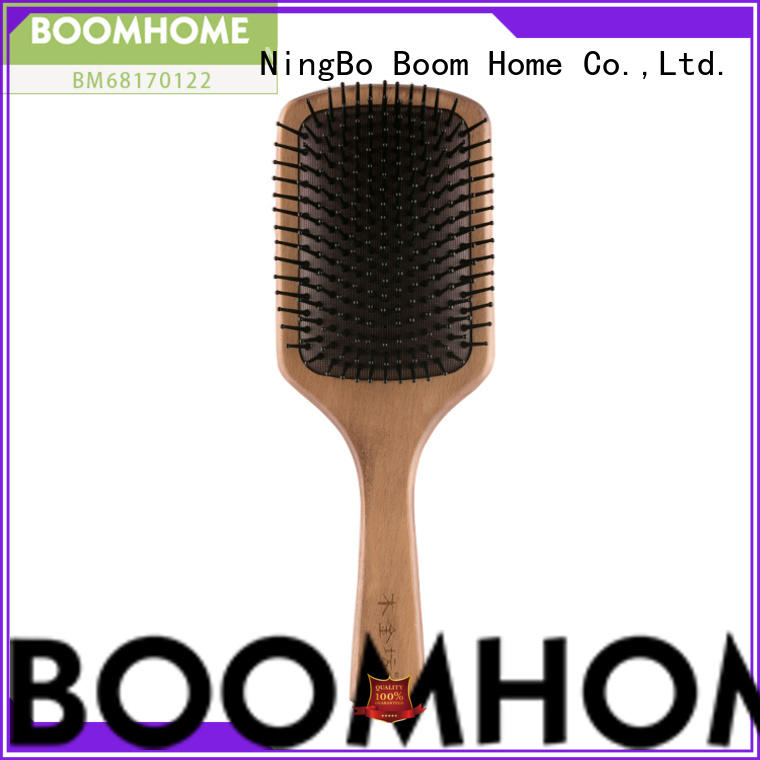 Boom Home large wooden handle hair brush factory for shop