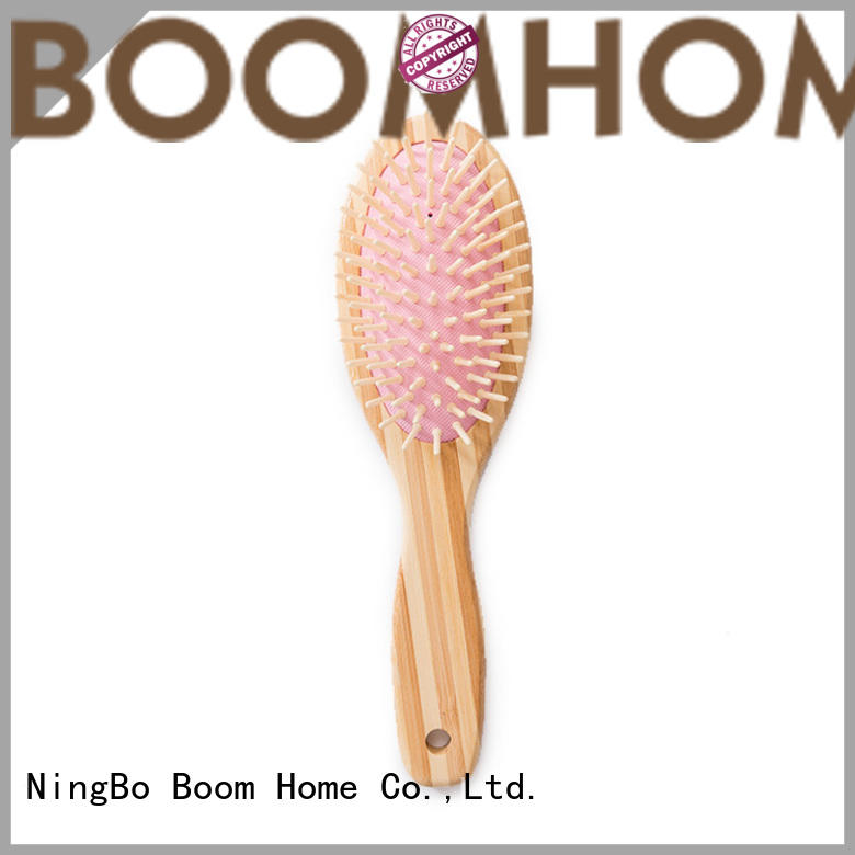Boom Home smooth bamboo comb personalized for men