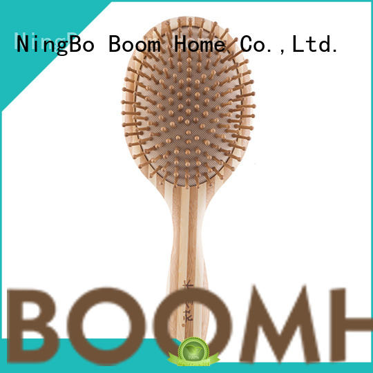 Boom Home quality bamboo hair comb wholesale for women