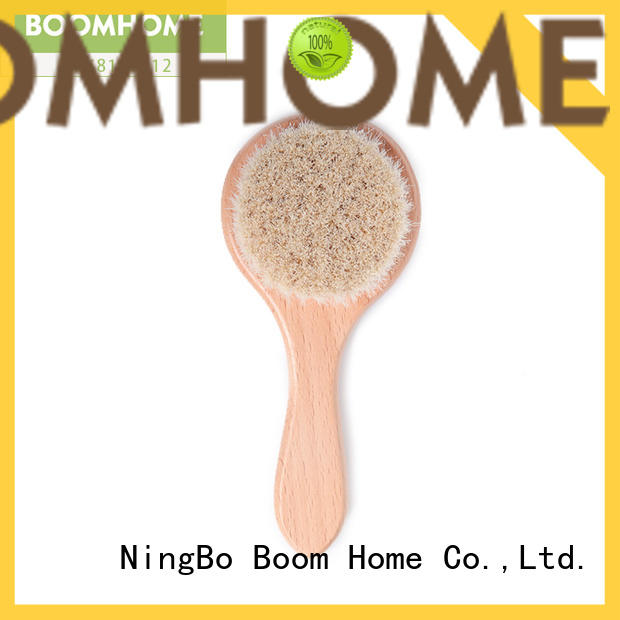 Boom Home boar hair baby hair brush and comb set suppliers for household