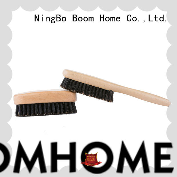 Boom Home long handle bristle hair brush factory for bathroom