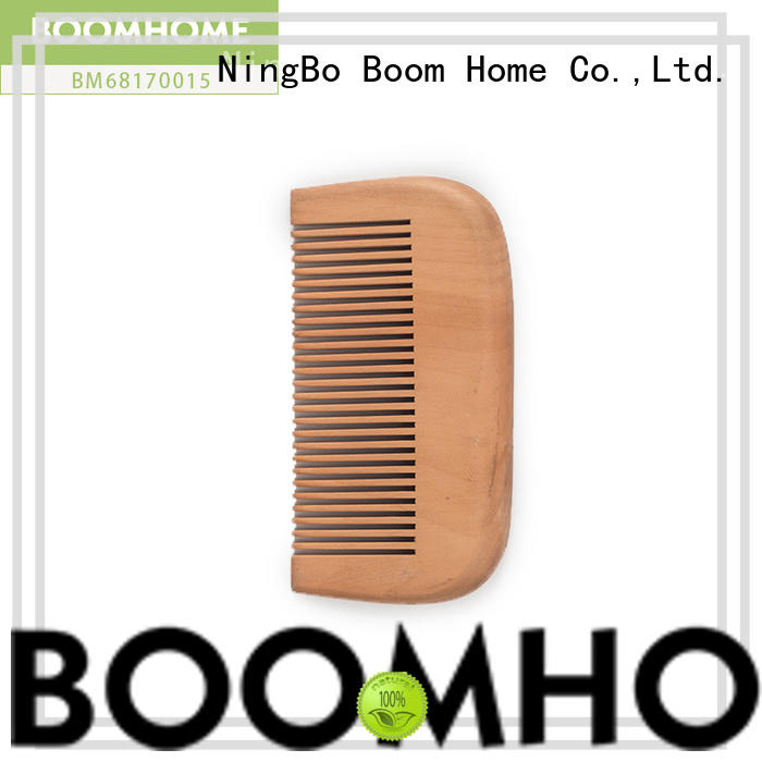 Wholesale wooden paddle brush without factory for travel