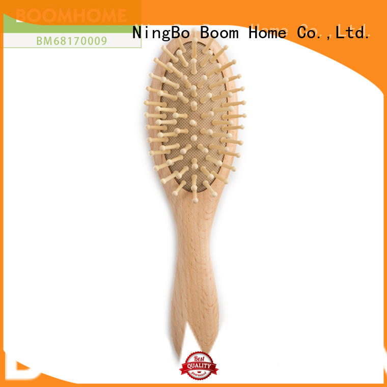 Eco-friendly Wooden Baby Hair Brush And Comb Set For Newborns & Toddlers