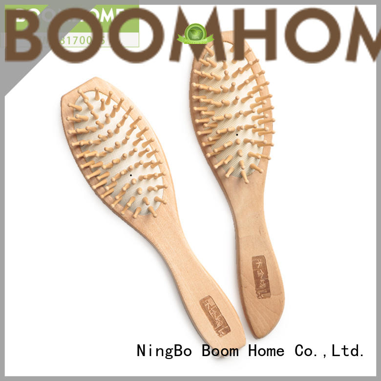 Boom Home massage wooden comb supply for hotel
