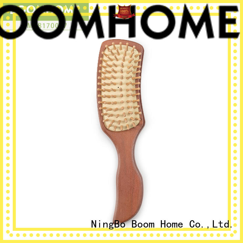 Custom Large Wooden Detangling Brush For Private Label