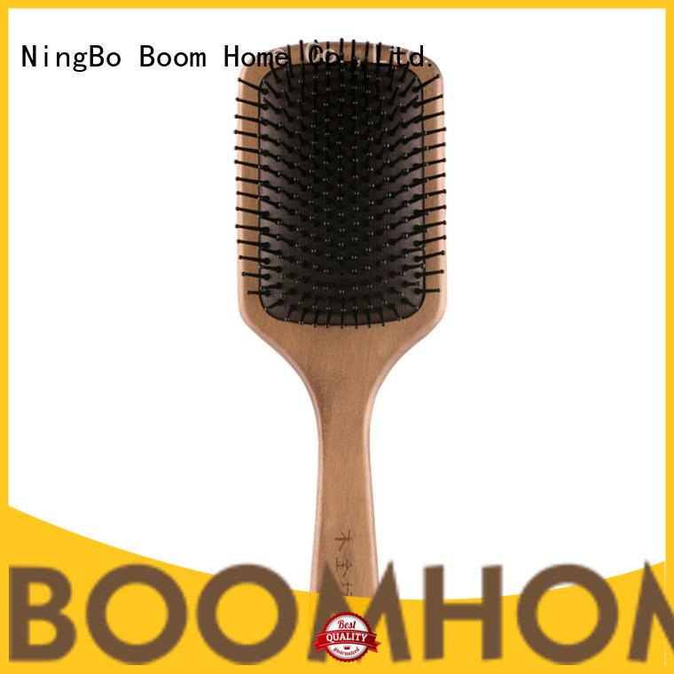 Boom Home beard wood hair brush suppliers for shop