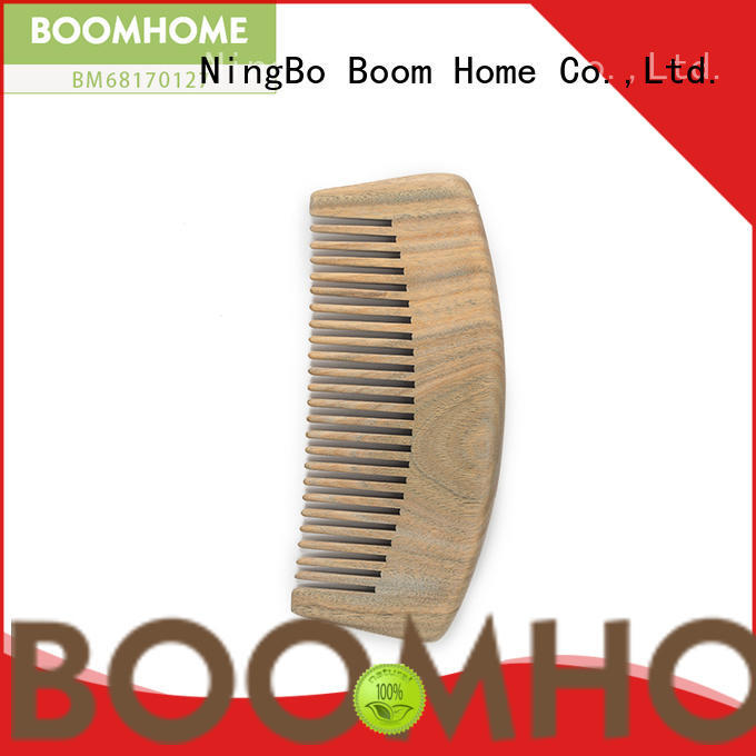 Boom Home easy wooden handle hair brush supply for shop