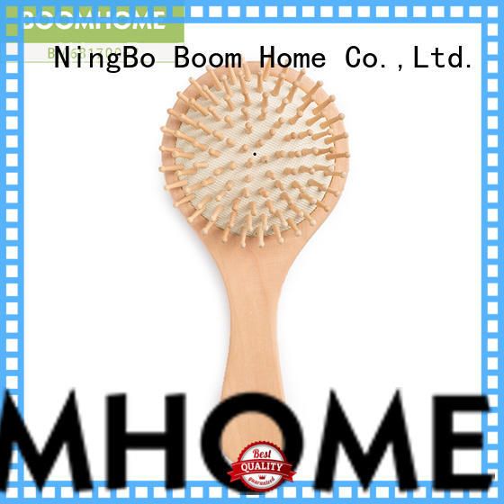 Boom Home style wood hair brush with good price for travel