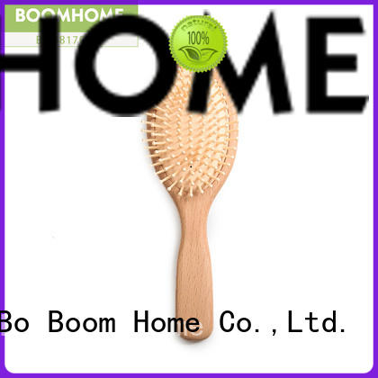Latest wooden paddle hair brush bespoke factory for travel