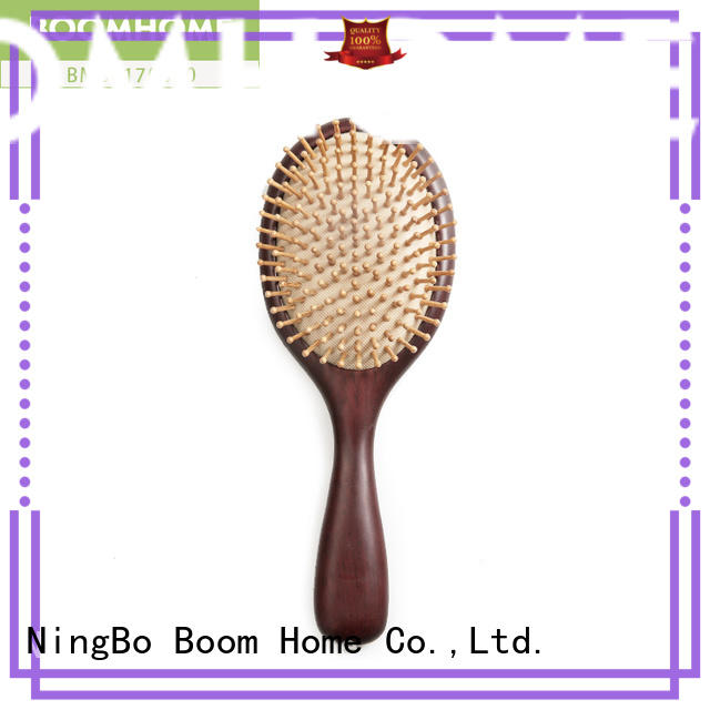 Boom Home anti-static wood hair brush factory for hotel