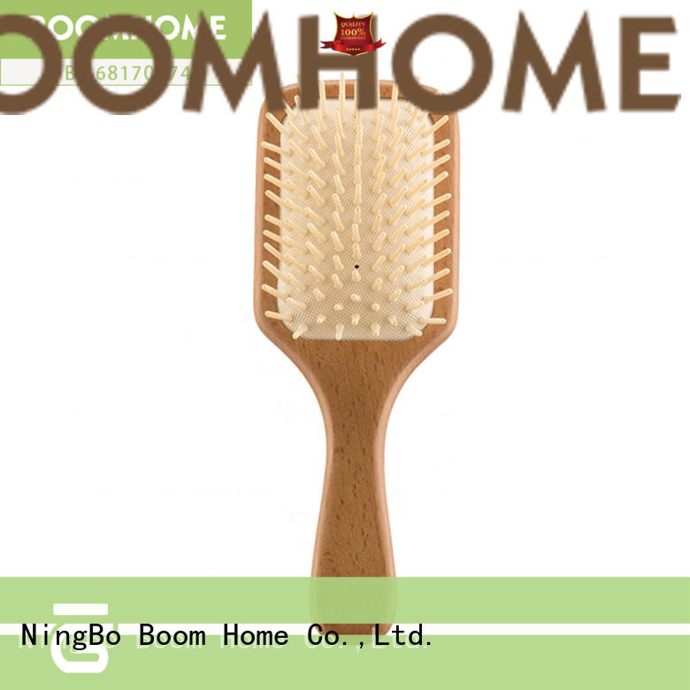 eco-friendly wood hair brush head inquire now for hotel