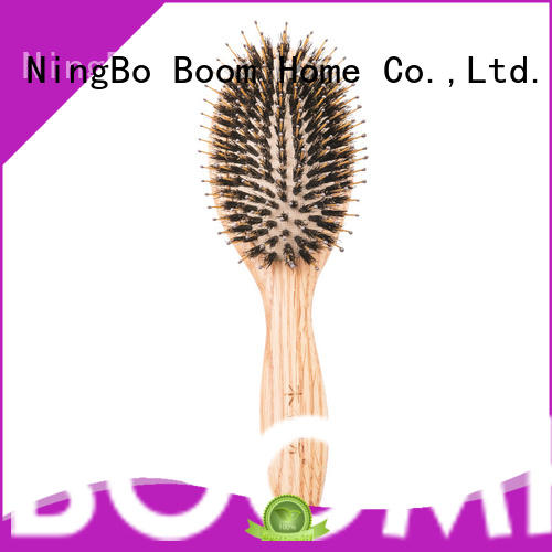 New wooden paddle hair brush bristle for business for shop