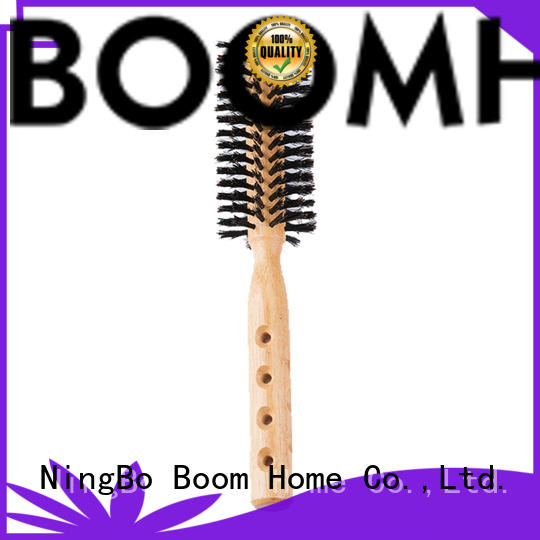 Boom Home anti-frizz round comb brush supplier for household