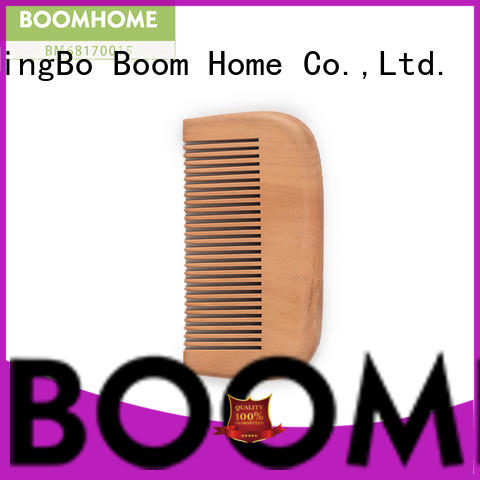 Boom Home personalized wooden hair comb factory for hotel