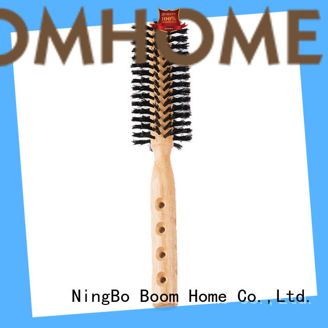Boom Home handle barrel hair brush wholesale for cleaning