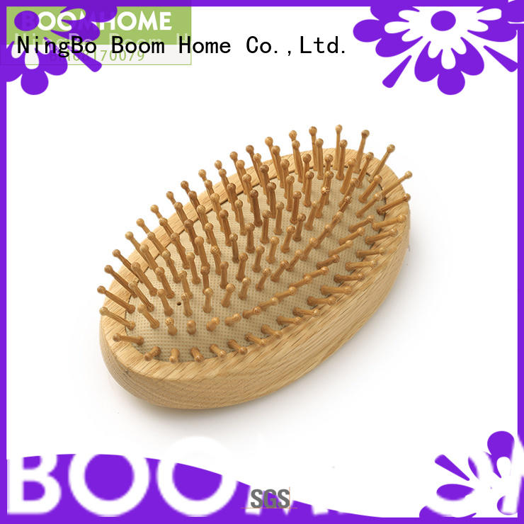Boom Home Wholesale wooden paddle hair brush company for travel