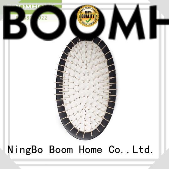 Boom Home design wooden paddle hair brush design for shop