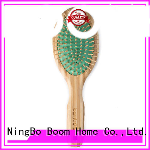 Boom Home cushion bamboo paddle brush wholesale for curly hair