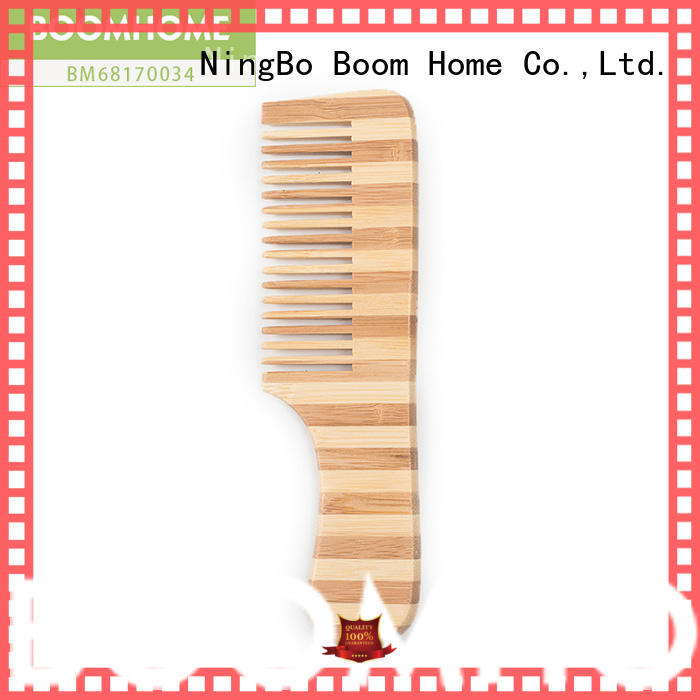 scalp bamboo hair brush personalized for women Boom Home