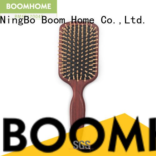 Boom Home stainless wood hair brush factory for home